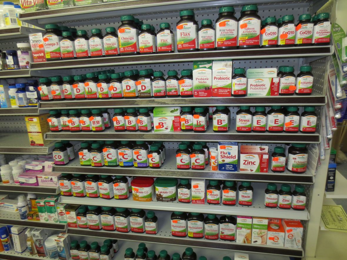 Grand Falls Drug Store Nutritional Supplements Jamieson