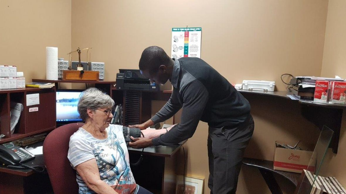 Grand Falls Drug Store Blood Pressure Checks